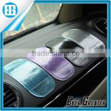 Pure color transparent anti slip rubber mat Car Dashboard Adhesive Mat for Cell Phone Cd,colorful mobile phone anti-slip mat