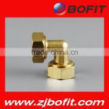 Bofit good quality pex copper press fitting female elbow for pex al pex composite pipe OEM available