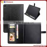 High quality PU leather cover case with card holder for apple ipad air 2