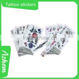 hot sell gold foil tattoo stickers with customized design, DL703                                                                         Quality Choice