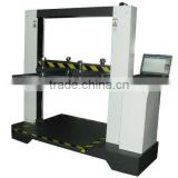 Computerized Boxes Carton Bursting Strength Test Equipment / Carton Compressive Strength test machine