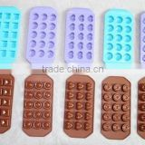 INQUIRY ABOUT All shapes Silicone candy chocolate ice molds made of 100% silicone