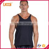 Blank Poly-Cotton Stringer Tank tops,Muscle tank tops, Mens custom vest for gym fitness Bodybuilder