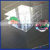 2016 Popular Item!! Customized 9 /16 /25 /30 Roses Clear Acrylic Flower Box                                                                         Quality Choice