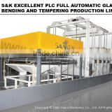 SKBT-1424M Glass Security Bending Furnace Aquarium Making Machine