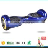 2015 new design 2 wheels smart electric self balance standing scooter with roof skateboard blue colour