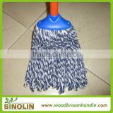 SINOLIN new popular product Cotton mop head wooden handle cotton floor mop with good quality