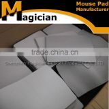 custom black and white blank mouse pad rubber material
