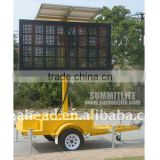 P37.5 LED Mobile Trailer Sign for Outdoor Advertising, Activities, Events