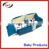 Portable baby travel bed baby travel bassinet diaper bag                                                                         Quality Choice