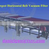vacuum belt filter for FGD,Beneficiation plant,citric acid,fertilizer industry solid-liquid separation