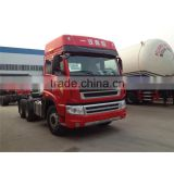 FAW three axels 6x6 all wheel drive tractor truck price list