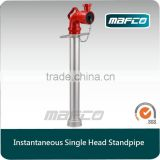BS336 Instantaneous single outlet fire fighting standpipes fire hydrant standpipe for fire fighting