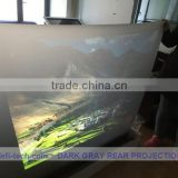 High quality holographic Rear projection screen film, PET film optical projection screen,Perfect advertisement medium