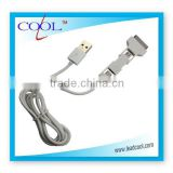 3 in 1 usb data sync/chargers cable for iphone 3/3g/3gs/4/4g/4s/ ipod touch