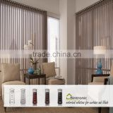 Bintronic Taiwan Electric Curtain Mechanism Motorized Vertical Blinds Window Covering Accessories For Home