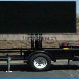 DIP /SMD P4 P6 P7 P8 P10 waterproof shockproo bus led display mobile led billboard trailer, mobile truck led tv screen