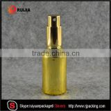 30ml gold essential oil dropper glass bottle with pump spray cap aluminum cap evident cap etc wholesale in stocks                                                                                                         Supplier's Choice