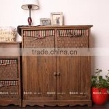 Manufacturers selling to Korean rural style furniture porch ark to receive contracted solid wood shoe ark store content ark