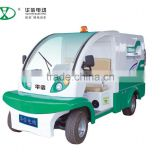 power wheel compactor garbage truck price with rear loader