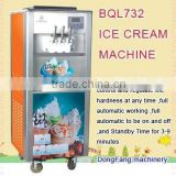 soft serve ice cream vending machine BQL732 icecream making machine