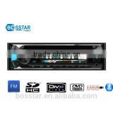 universal single din detachable panel cheap car dvd player fm radio receiver with usb sd dvd vcd cd mp3 mp4