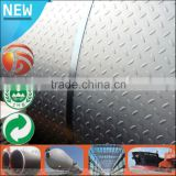 Low Price Q235 S235JR 8mm chequer steel plate diamond sheet price mild steel sheet