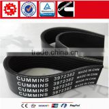 China hot sale high quality diesel engine cummins ISF belt 3972382, cummins V ribbed belt 3972382