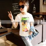 High Quality Fashion Washable Breathable Children Hot Basic T-shirt