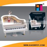 factory custom made hand crank music box with ballerina 10208254                                                                         Quality Choice