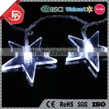 TZFEITIAN factory direct price cool white color pentagram star shaped string lights
