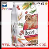Animal feed bag, pet food pouch side sealed gusset pouches for dog food bag cat packaging bag