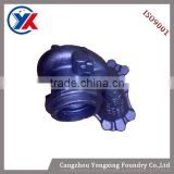 custom made precision turbine housing casting, sand casting iron part lost wax investment casting