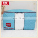 Logo customized bamboo charcoal non woven quilt storage bag