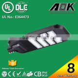 AOK High Power IP66 IK10 TM21 Photocell Dimmable Outdoor Roadway Area UL LED Street Light for USA Market