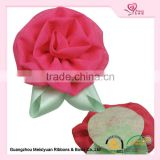 artificial flower imported from china hair accessories kids dress decoration flowers clothes accessory
