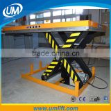 Qingdao UM Equipment Produces 1-4 Ton Loading Self-propelled Hydraulic Stationary Scissor Lift For Car Wash