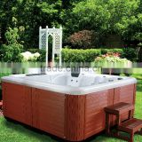 5 Persons freestanding acrylic whirlpool massage balboa system commercial portable hot tub outdoor spa