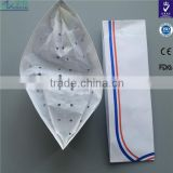 restaurant /hotel supplies disposable paper forage hat cheap price made in hand with stripe