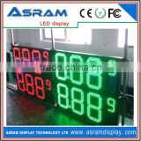 led time temperature display/ led gas station price signs/ large screen indoor and outdoor weather station
