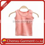 sleeveless tee shirt basic baby t shirt babies collar Shirts
