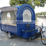 Electric mobile catering food van,customized fast food vending car