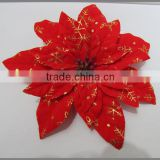 Top selling artificial christmas flowers 2014 newest christmas led flower tree light blossom lights(AM-F-01)