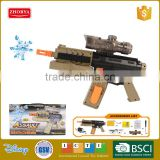 Kids toys funny action electric water bullet gun cheap and safe plastic water bullet gun toy
