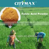yellow powder fulvic vegetable source in agriculture