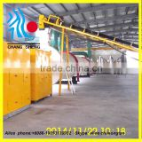 High quliaty single layer rotary drum dryer type sawdust dryer machine / wood sawdust drying machinery