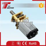 GM12-N20VA micro dc gear motor for electronic lock of bike sharing