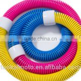 Fitness Equipment hula hoop/wholesale popular use massage hula hoop/spring soft hula hoop