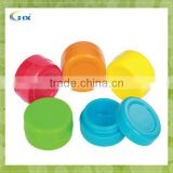 Silicone Concentrate Jar with Insert Bowl,Non-stick Plastic Oil Container, Wax Dab Jar for Oil and Extract