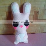 2017 Hot new bestselling product wholesale alibaba felt plush Cute pink bunny doll small plushies toy made in China